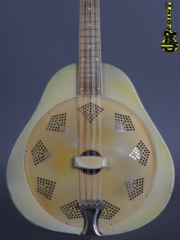 1930 National Triolian Resonator Mandolin