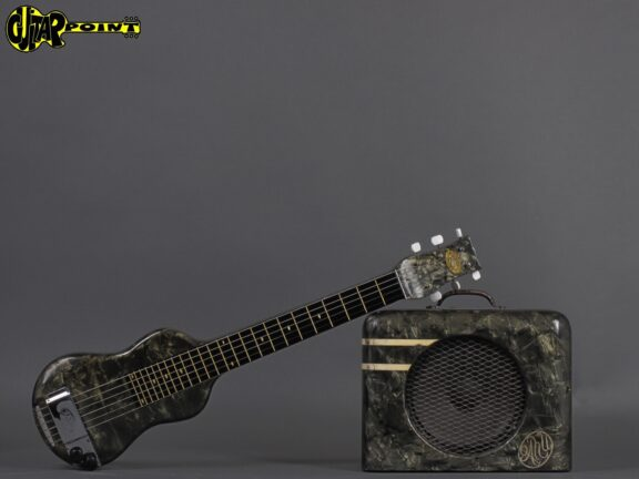1940 Oahu Lap steel + Tube-amp