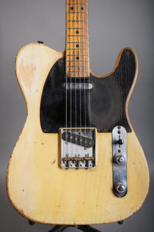 """1953 Fender Telecaster """"Blackguard"""" - Blond"""