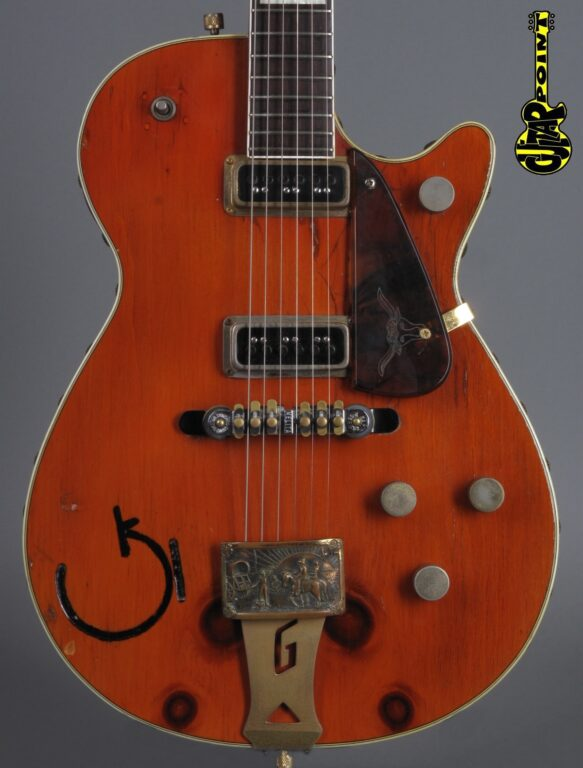 "1955 Gretsch 6130 Round-Up ""Knotty Pine"" - Ex-Brian Setzer"