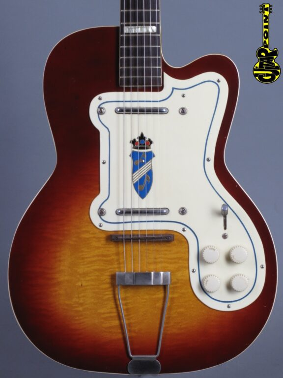 "1955 Silvertone 1369L Jimmy Reed ""Thin Twin"" - Sunburst"