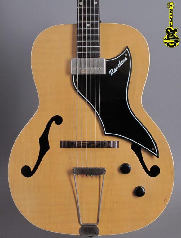 1956 Supro Ranchero - Natural