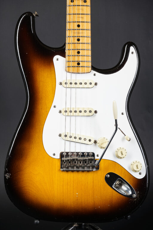 1957 Fender Stratocaster - Sunburst ...signed by Ronnie Wood