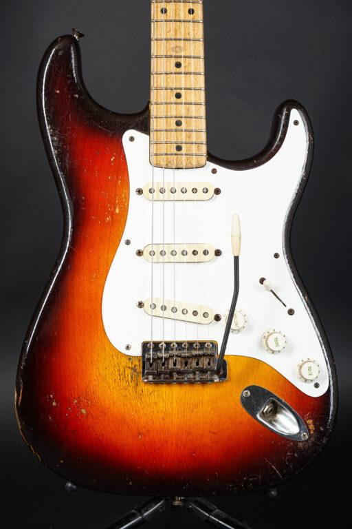 1958 Fender Stratocaster - Sunburst ...3,04Kg!