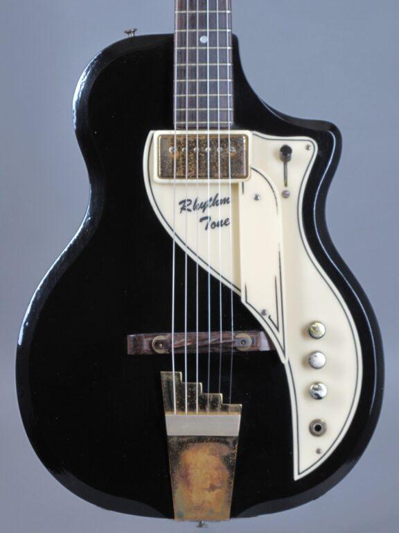 1958 Supro Rhythm Tone - Black