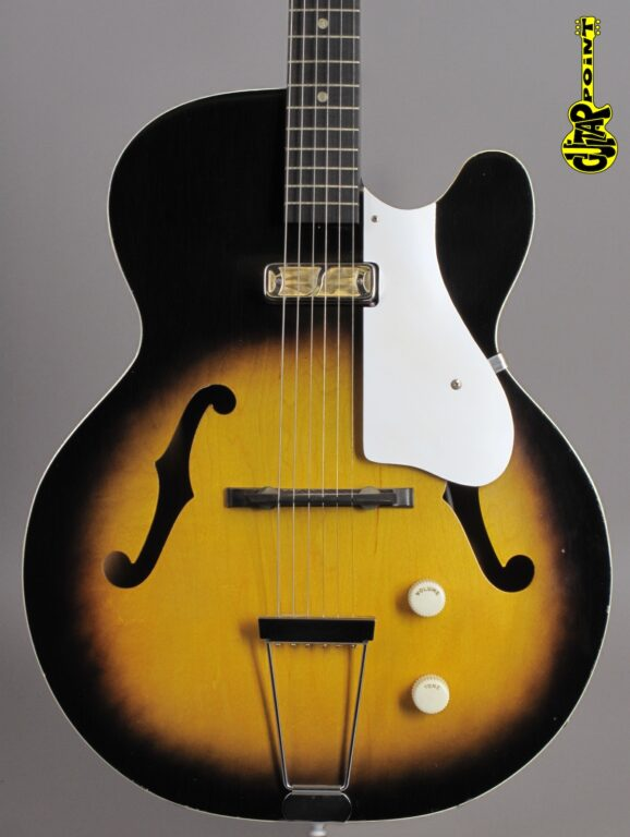 "1960 Harmony H53 ""Rocket"" - Sunburst (Made in USA)"