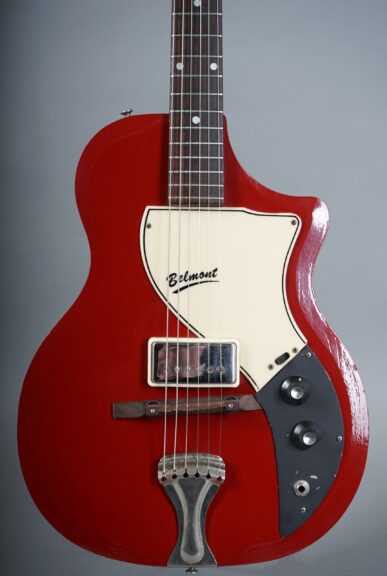 1960 Supro 1570 Belmont - Maroon