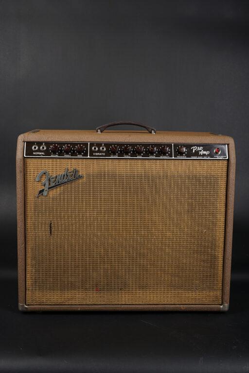 1962 Fender Pro Amp 6G5 - Brownface