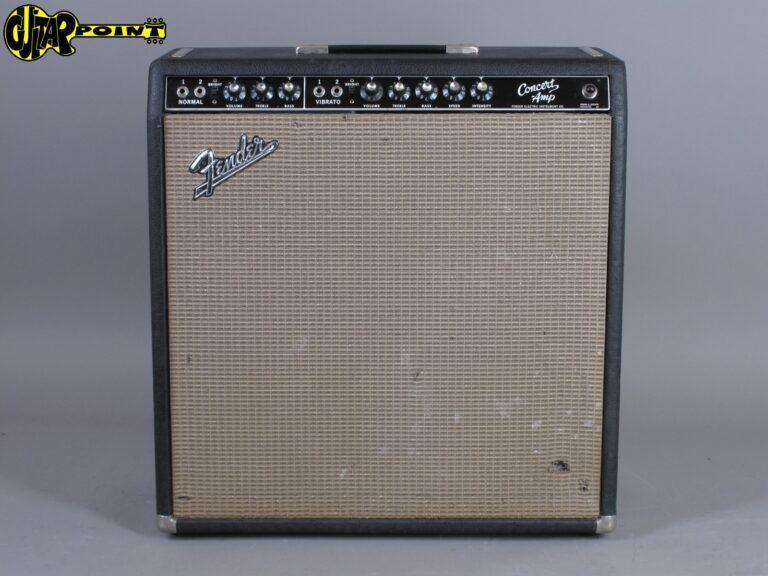 """1963 Fender Concert 4x10"""" Tube Amp - Blackface"""