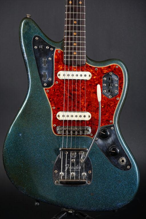 1963 Fender Jaguar - Blue Sparkle Refin