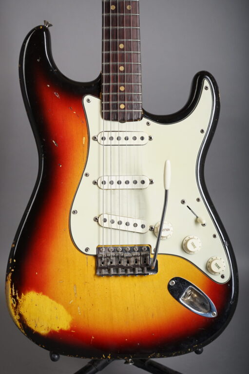 1964 Fender Stratocaster - 3-tone Sunburst  w/ Abigail Ybbara PU´s!