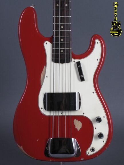 1965 Fender Precision Bass - Dakota Red