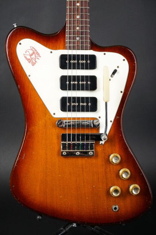 1965 Gibson Firebird III Non-reverse - Sunburst