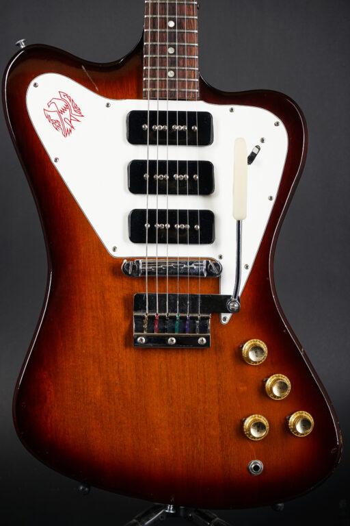 """1965 Gibson Firebird III """"non-reversed"""" - Sunburst"""