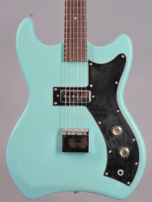 1965 Guild S50 Jetstar - Teal green