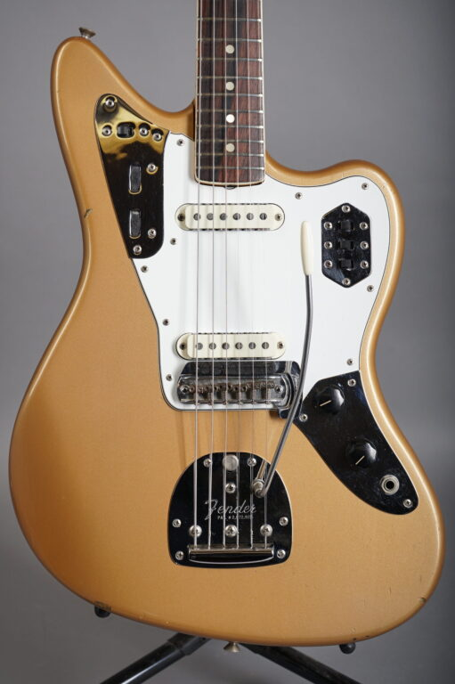 1966 Fender Jaguar - Firemist Gold w/ matching headstock