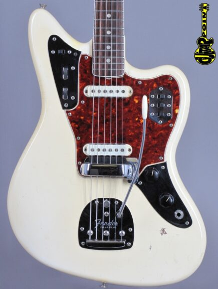 1966 Fender Jaguar – Olympic White