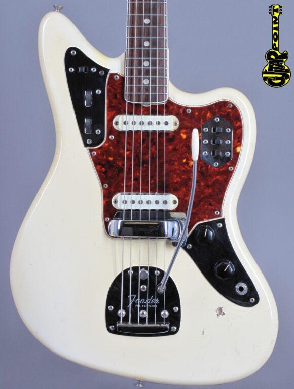 1966 Fender Jaguar – Olympic White