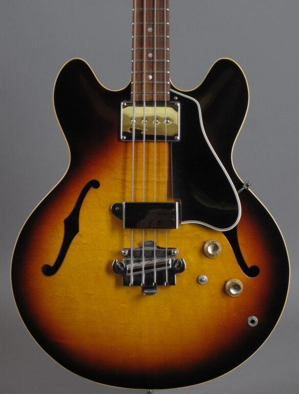 1966 Gibson EB-2 Bass - Sunburst