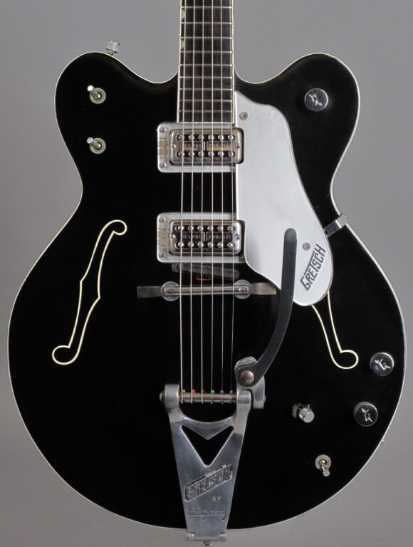 1966 Gretsch 6120 DC - Black  ...rare custom color