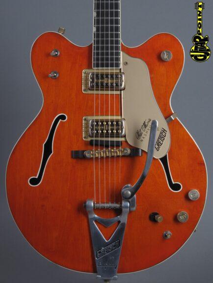 """1966 Gretsch 6120 DC """"Chet Atkins"""" - Orange"""