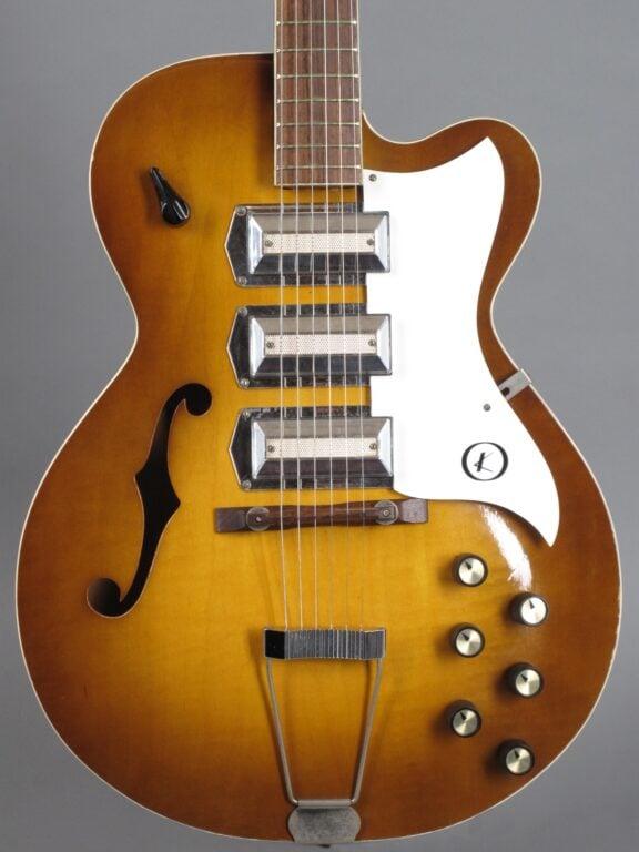 1966 Kay Swingmaster K673 - Sunburst