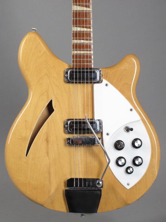 1966 Rickenbacker 365 - Mapleglo