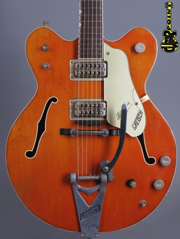 "1967 Gretsch 6120 DC ""Chet Atkins"" - Orange"