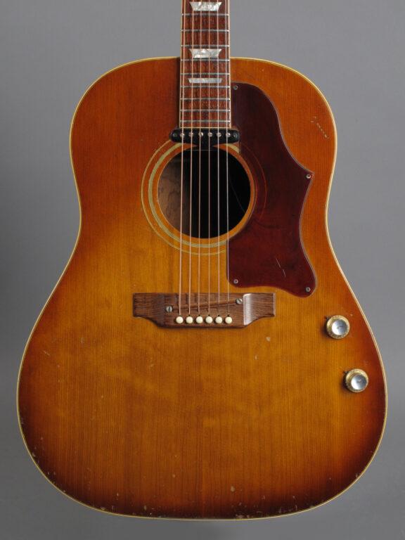 1969 Gibson J-160E - Sunburst