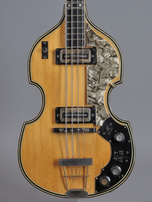 1970 Höfner 5000/1M Super Beatles Bass - Natural