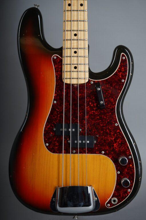 1972 Fender Precision Bass - 3t-Sunburst  ...only 3,8Kg!