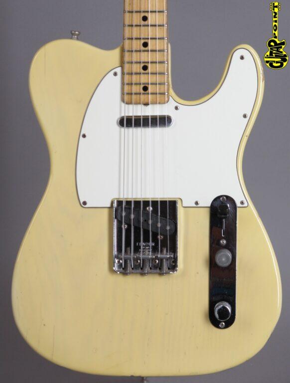 1972 Fender Telecaster - Blond  ...lightweight only 3,27Kg!