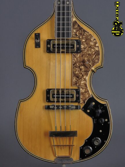 1972 Höfner 5000/1B Super Beatles Bass - Natural