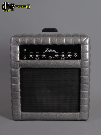 "1972 Kustom K25 C-2  -  ""Tuck & Roll"" - Silver Sparkle"