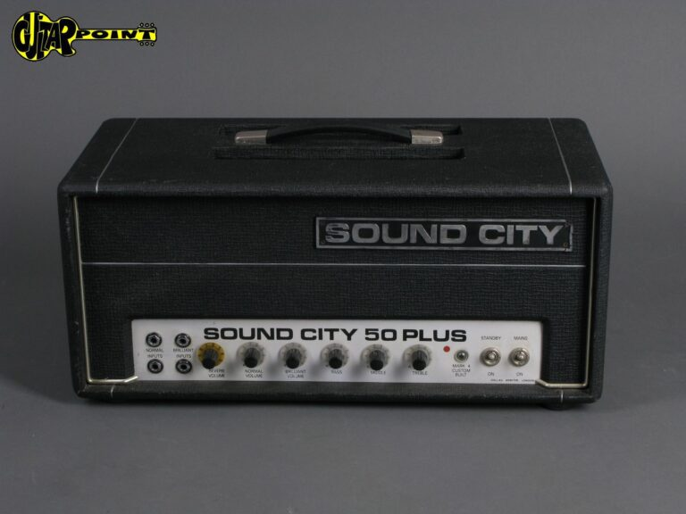 1972 Sound City 50 Plus  - 50 Watt head