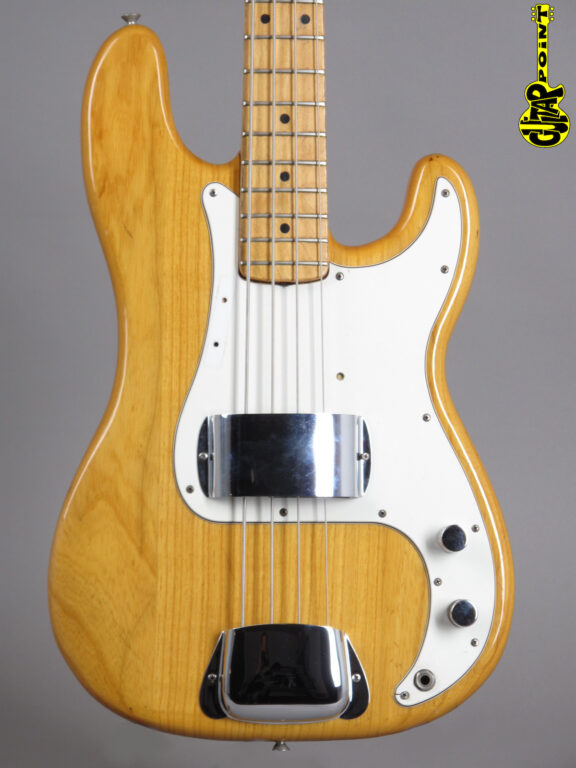 1973 Fender Precision Bass - Natural