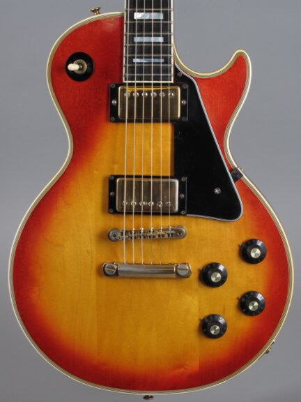 1973 Gibson Les Paul Custom - Cherry Sunburst