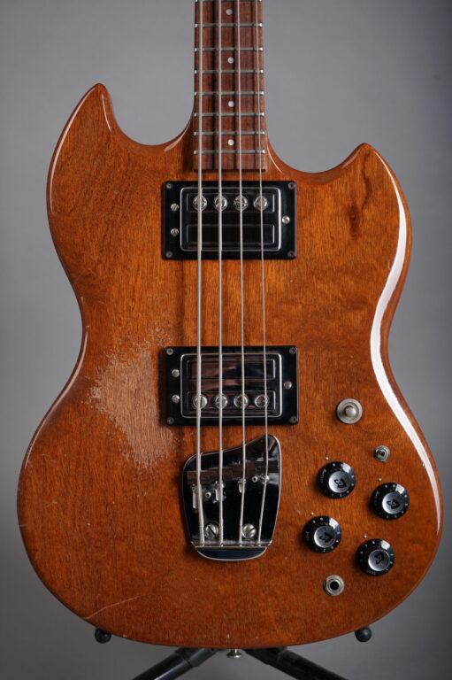 1973 Guild Jet Star JS-II Bass - Cherry