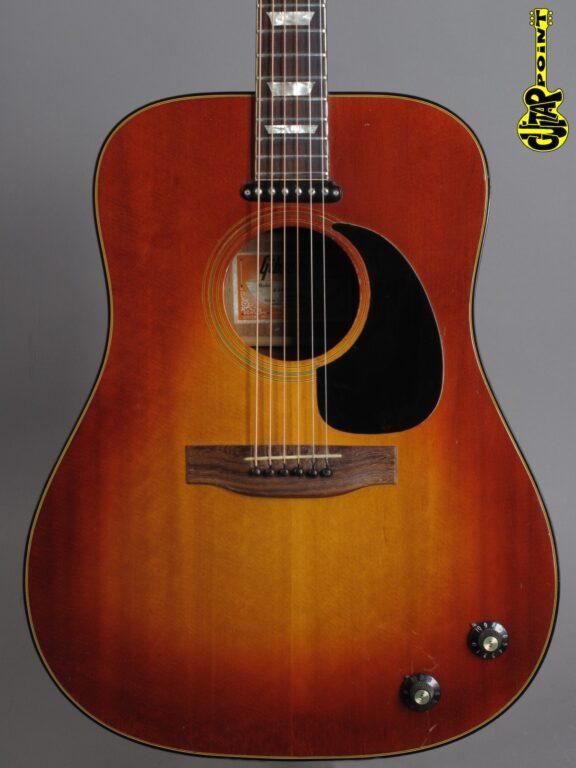 1974 Gibson EJ-160E - Sunburst
