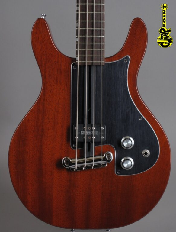 1975 Dan Armstrong 342 4-String Bass - Cherry