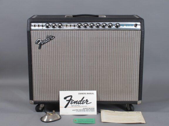 "1975 Fender Pro Reverb 2x12""  ...clean w/hangtags!"