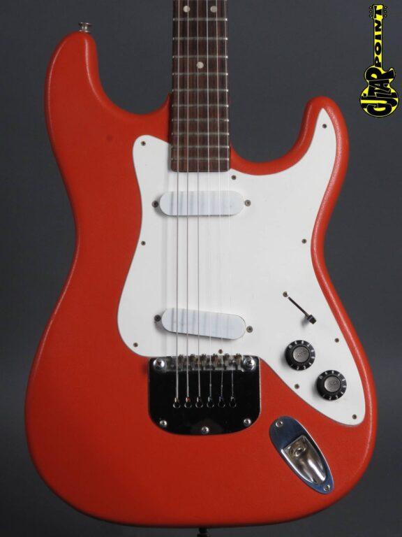 1976 Framus Strato - Red