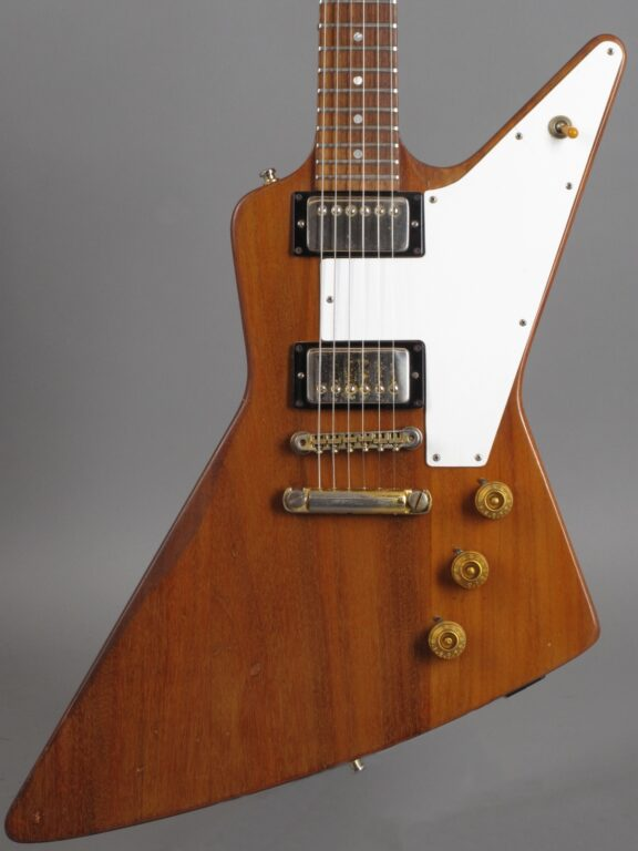 1976 Gibson Explorer - Natural / Limited Edition