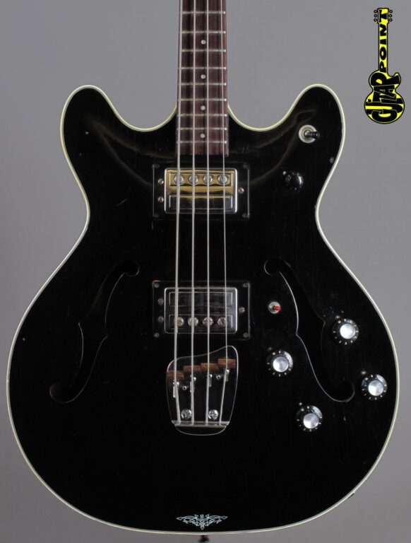 1976 Guild Starfire SF-Bass II - Black
