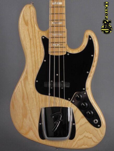 1978 Fender Jazz Bass - Natural