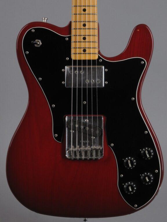 1978 Fender Telecaster Custom - Transluscent Red