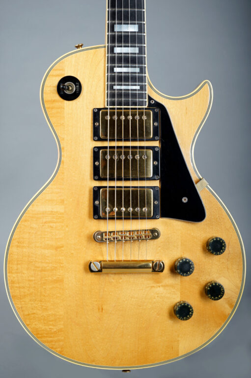1979 Gibson Les Paul Custom 3-Pickups - Natural