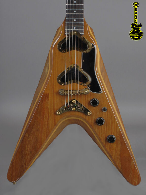 1980 Gibson Flying V2 - Natural