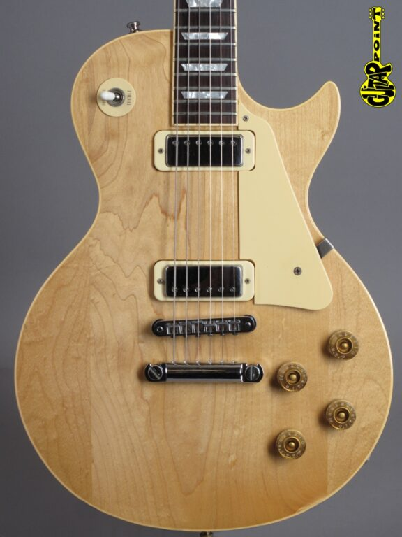 1981 Gibson Les Paul Deluxe - Natural