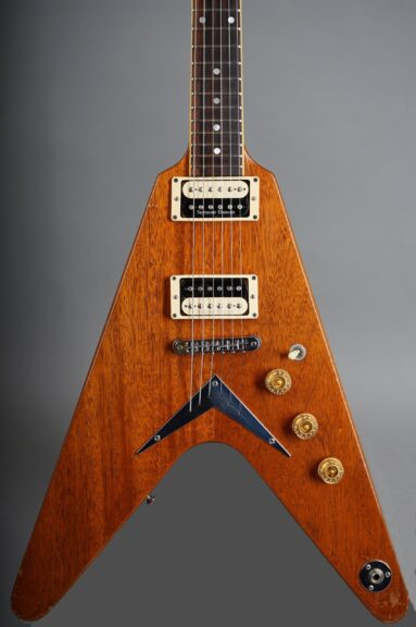 1982 Dean USA V - Natural Mahogany